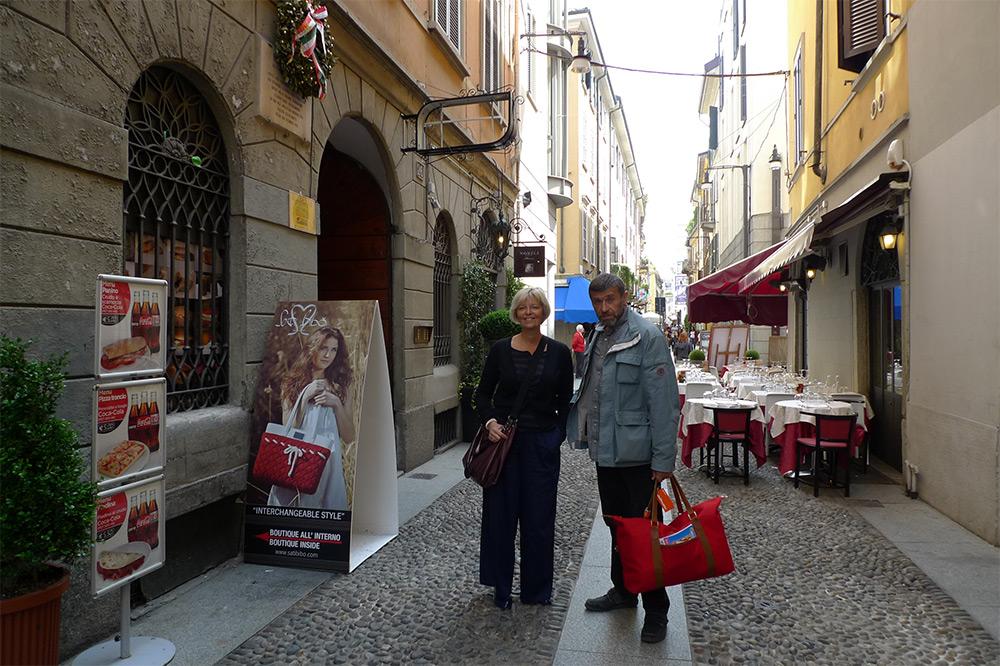 Милан, Брера, 2012