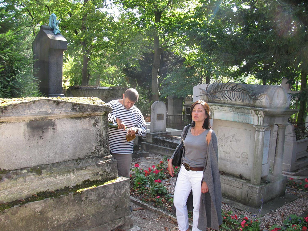 кладбище Пер-Лашез, Париж 2009