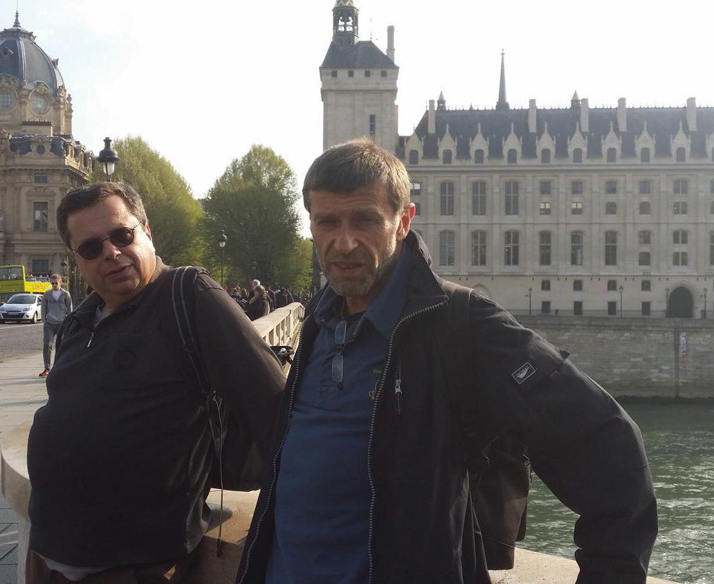 Париж, апрель 2014