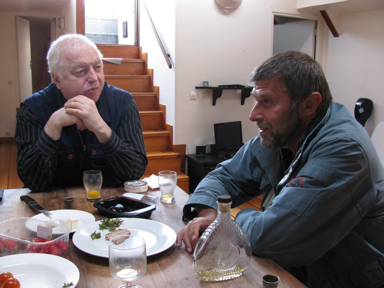 Париж, баржа-отель на Сене Сергей Никитин апрель 2010,